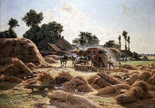 The Threshing Machine, Loiret