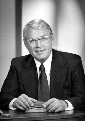 Bert Weeks - Portrait of Mayor Bert Weeks by Windsor photographer Pat Sturn