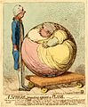 Albinia Hobart Gillray sphere and plane.jpg