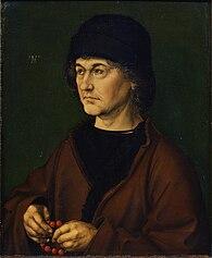Porträt Albrecht Dürers des Älteren,(1490), Galleria degli Uffizi, Florenz (Quelle: Wikimedia)