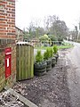 Alderholt, postbox № SP6 150, Sandleheath Road - geograph.org.uk - 1163924.jpg