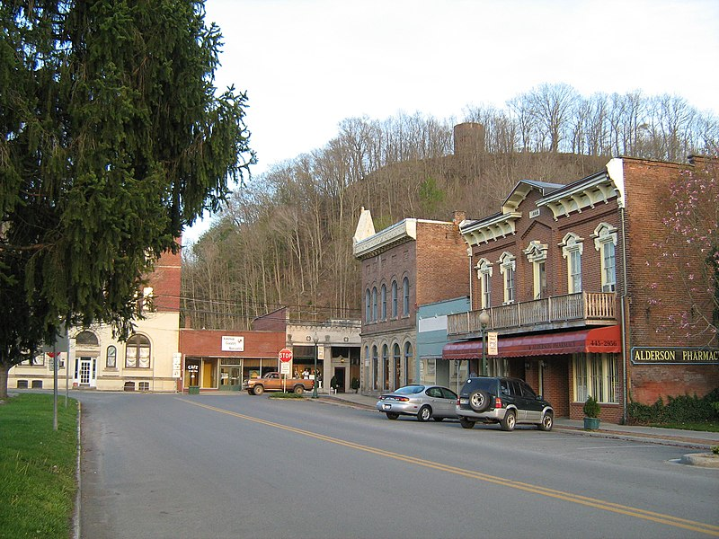 Fichier:Alderson WV Historic Section.jpg