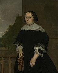 Portrait of Aletta van Ravensberg (1635-77). Wife of Jan van Nes