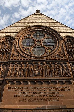 Alexander Hall (Princeton University) - Image: Alexander Hall Princeton University New Jersey USA
