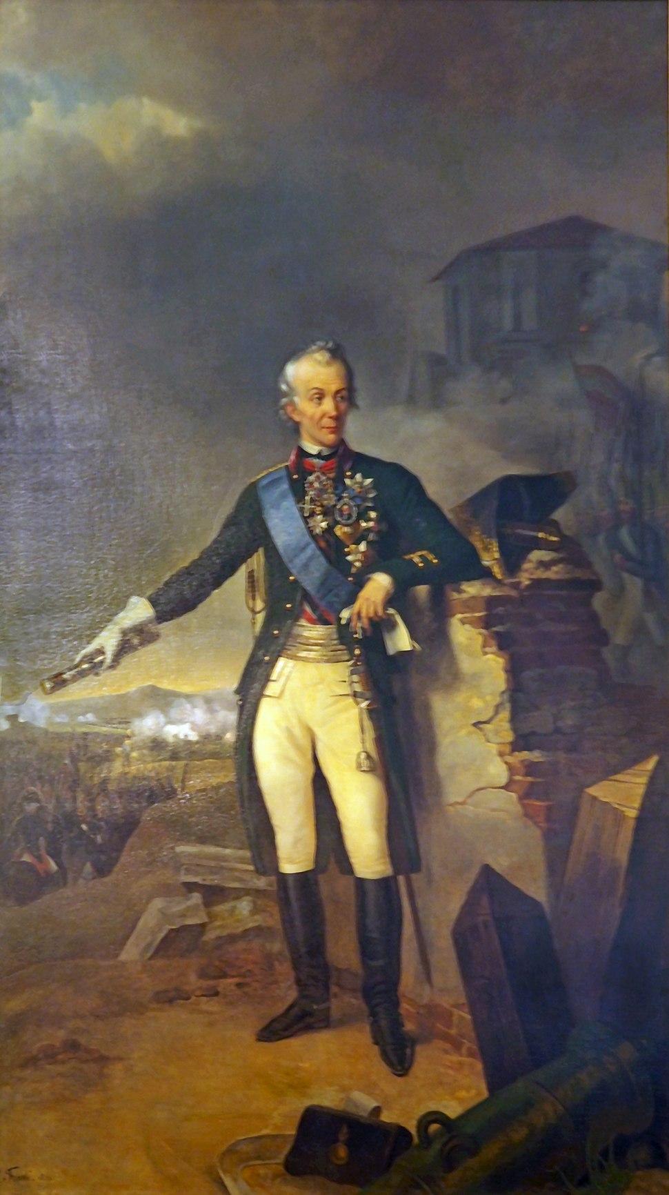 Alexander Wassiljewitsch Suworow Petersburg Eremitag