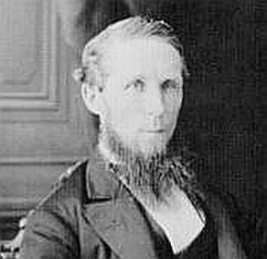 2nd Canadian Ministry - Photograph taken in 1874 of Alexander Mackenzie, the prime minister who led the 2nd Canadian Ministry.