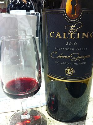 Jim Nantz - Cabernet Sauvignon from the Alexander Valley produced for Nantz's The Calling label.