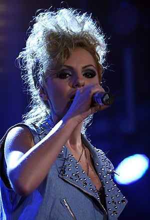 Alexandra Stan discography - Alexandra Stan performing at the Austrian Sports Personality of the Year event in 2011.