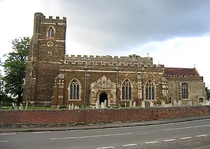 Houghton Conquest - Image: All Saints' parish church, Houghton Conquest, Beds geograph.org.uk 180221