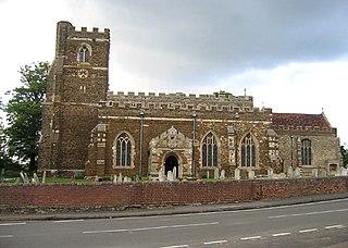 Houghton Conquest farm village in the United Kingdom