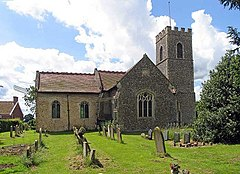 All Saints, Wreningham, Norfolk - geograph.org.uk - 852763.jpg