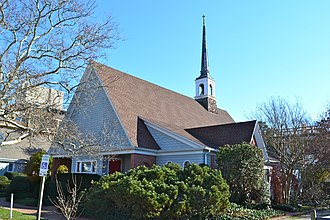 National Register of Historic Places listings in Sussex County, Delaware - Image: All Saints Rehoboth Sussex Co DE