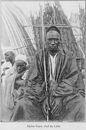 Alfa Yaya of Labé - « Alpha-Yaya, Chief of Lâbè », c. 1900