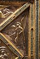 Altare di s. ambrogio, 824-859 ca., lato dx dei maestri delle storie di cristo, angeli e santi che adorano la croce gemmata 06.jpg