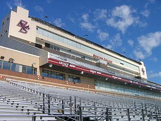 Alumni Stadium - Image: Alumni Stadium 1