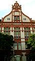 Am Lindener Berge 12 ehemalige Städtische Mittelschule Linden Georg Fröhlich 1905 jetzt IGS Linden Hannover Mittelrisalit.jpg