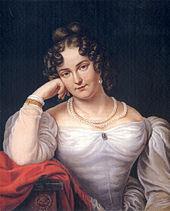 Amalie Haizinger, Gemälde von Franz Seraph Stirnbrandt, um 1850 (Quelle: Wikimedia)