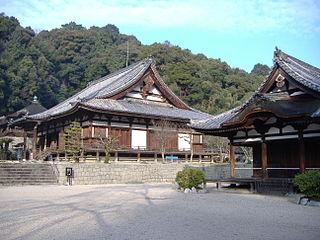 Kongō-ji Buddhist temple in Osaka, Japan