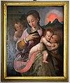 Ambito di maso da san friano, madonna col bambino, angelo e san giovannino, 1550 ca.jpg