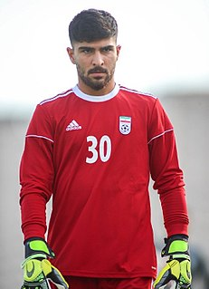 Amir Abedzadeh Iranian footballer