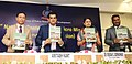 Amitabh Kant releasing the compendium at the inauguration of the 1st National Conference of Micro Missions of National Police Mission, organised by the Bureau of Police Research & Development (BPR&D), MHA, in New Delhi.jpg