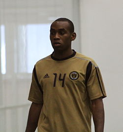 Amobi Okugo at Preseason Training for the Philadelphia Union, Jan 2011.jpg