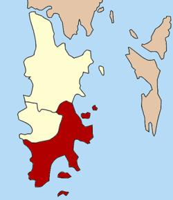 Amphoe location in Phuket Province