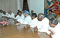 An All Party Delegation from Karnataka led by the Chief Minister, Shri H.D. Kumaraswamy meeting with the Prime Minister, Dr. Manmohan Singh, in New Delhi on August 08, 2006.jpg
