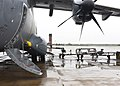 An aviation fueling system is connected to a fuel line as a Turkish Airbus A400M Atlas.jpg