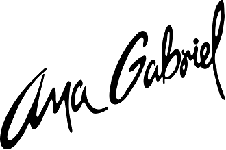 Ana Gabriel - The logo that identifies Ana Gabriel in her career as a soloist.
