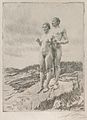 Anders Zorn - The Two (etching) 1916.jpg