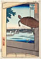 "Ando Hiroshige - Mannen Bridge, Fukagawa, from the series ""One Hundred Famous Views of Edo"" - Google Art Project.jpg"