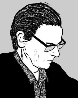 André Leroi-Gourhan - Portrait by José-Manuel Benito Álvarez