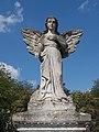 Angel gravestatue (1927), German Memorial Park, 2018 Zsámbék.jpg
