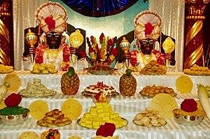 Govardhan Puja - Annakut feast