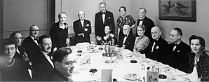 Melanie Klein - A dinner to celebrate Melanie Klein's 70th birthday