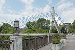 旧秩父橋から見た新秩父橋