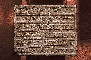 Épitaphe de Geraldus de Borderia