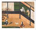 Anonymous, Japanese - Cockfight - Google Art Project.jpg