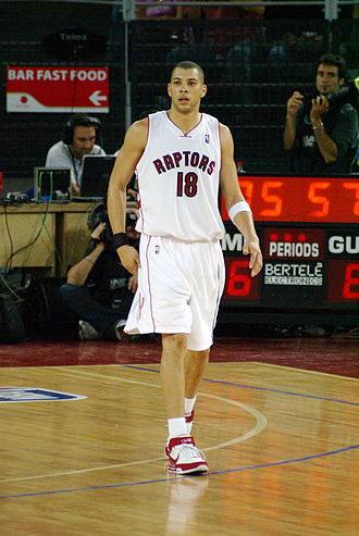Anthony Parker - Anthony Parker during his tenure with the Raptors