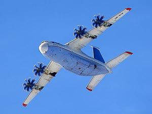 Antonov An-70 - An-70 in-flight
