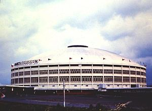 Smart Araneta Coliseum - The Araneta Coliseum during the 1960s