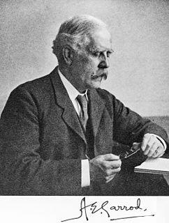 Archibald Garrod British doctor