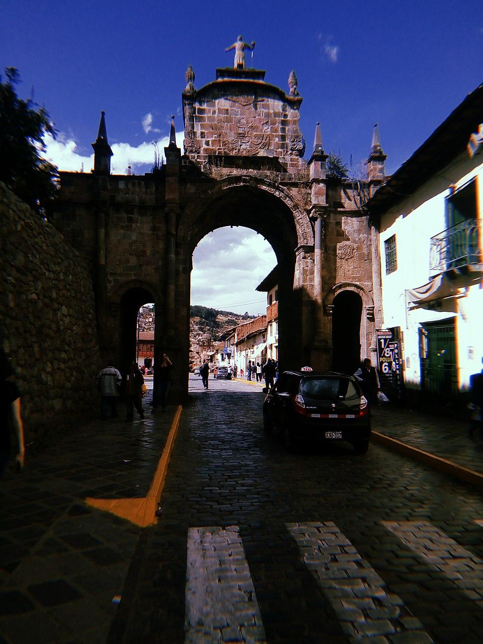 Arco de Santa Clara, Cusco