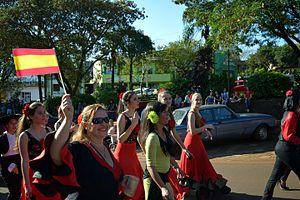Spanish diaspora - Immigrant's Festival in Misiones, Argentina