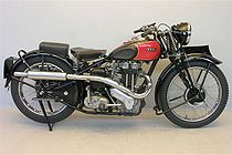 Ariel 350 cc Red Hunter uit 1938