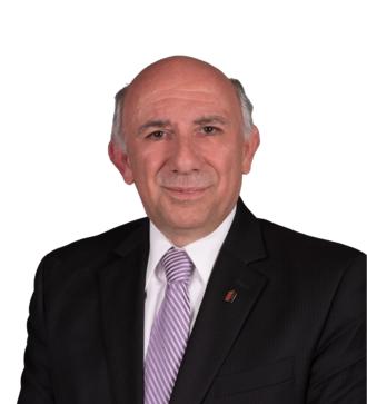 Aris Babikian - MPP Aris Babikian in 2018