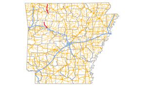 Arkansas Highway 103 - Image: Arkansas Highway 103