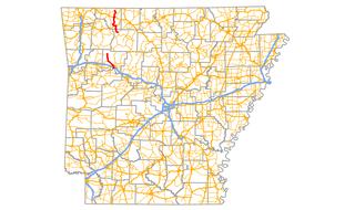 Arkansas Highway 103 highway in Arkansas