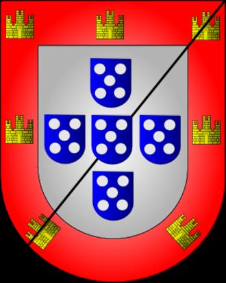 Jorge de Lencastre, Duke of Coimbra - Image: Armas duques aveiro